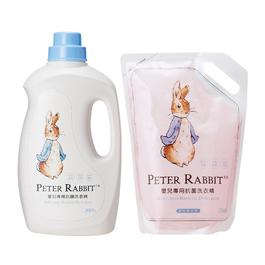 比得兔嬰兒專用抗菌洗衣精 (瓶裝+補充包)