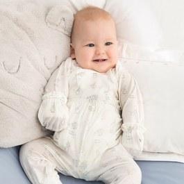 森林小兔嬰兒長褲(氧樂多牛奶纖維)