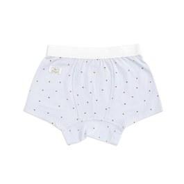 小星心男平口褲(鋅纖維)