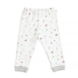 倫敦風情嬰兒長褲(三段天絲棉布)