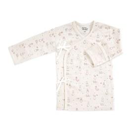 粉色愛心兔肚衣(遠紅外線柔暖纖維)