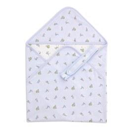 星空兔包巾