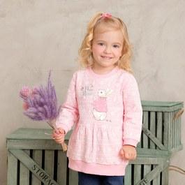 粉紅聖誕印花上衣