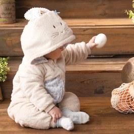 優雅比得舖棉造型兔裝