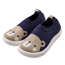 高彈性數位針織童鞋-熊