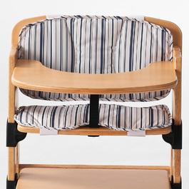 兒童成長椅-坐墊背靠組