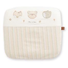 有機棉乳膠圓型枕(附布套)