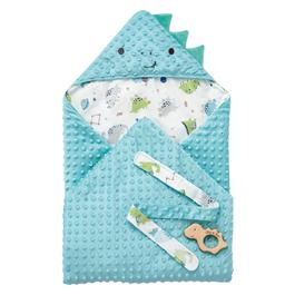 豆趣包巾+手搖鈴禮盒