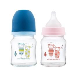 晶透實感寬口玻璃奶瓶(120ML)