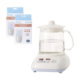 《超值組1+2》調乳調理器+母乳保鮮儲存袋20入(2個)