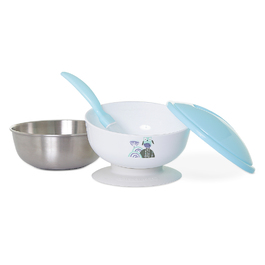 不鏽鋼活動吸盤湯碗組