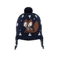 小狐狸毛線帽