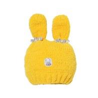 可愛兔毛線帽