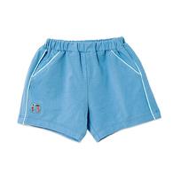 開心樂園貼標短褲
