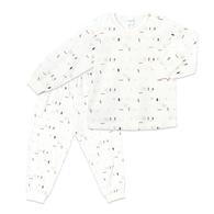 漫步森林冷氣衫套裝(天絲棉)