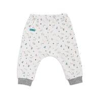 太空世界嬰兒長褲(三段天絲棉布)