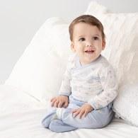 小刺蝟嬰兒長褲(羊毛保暖布)
