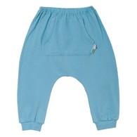 繽紛夏日飛鼠嬰褲(藍)