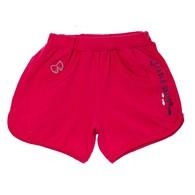 海洋風短褲(桃紅)