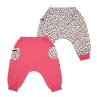 粉紅豹嬰兒長褲-2入