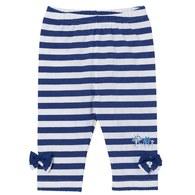 藍色風情七分合身褲
