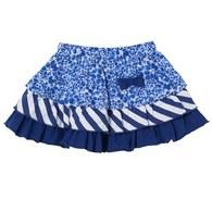 藍色風情短裙