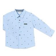 鯨魚狂想長袖襯衫