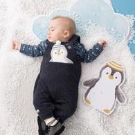 小企鵝背帶褲