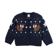 小狐狸毛衣外套