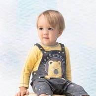 太空熊長袖兔裝
