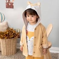 快樂森林造型連帽外套