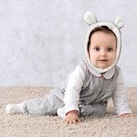 開心雪季長袖兔裝(內裡羊毛保暖布)