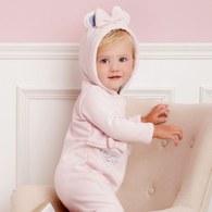 清新寶貝連帽兔裝