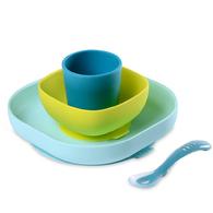 寶寶矽膠學習餐具組
