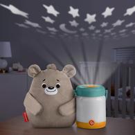費雪安撫小熊奶瓶投影夜燈