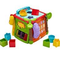 費雪可愛動物積木盒