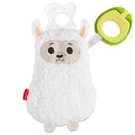 費雪奶嘴掛鍊安撫娃娃-綿羊
