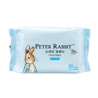 比得兔柔濕巾-20抽