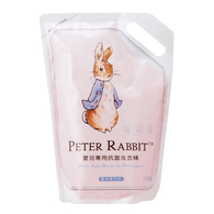 比得兔嬰兒專用抗菌洗衣精-補充包2000ml