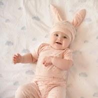 兔蘿蔔嬰兒長褲