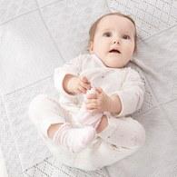 松果兔嬰兒長褲(羊毛保暖布)