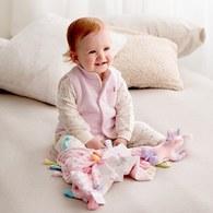 粉色愛心兔套裝(遠紅外線柔暖纖維)