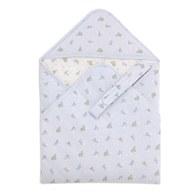 星空兔舖棉包巾