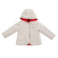 雪季比得舖棉外套-雙面穿