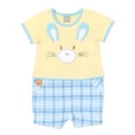 小清新短袖兔裝
