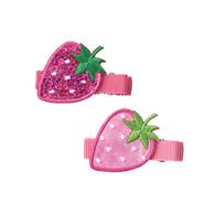 草莓髮夾組