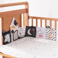 寶寶認知學習布書床圍