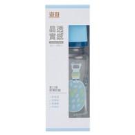 晶透實感寬口玻璃奶瓶(240ML)
