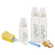 【標準口徑】德國耐熱硼矽玻璃奶瓶禮盒-花鳥