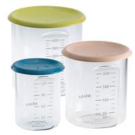 副食品儲存罐-3入組(不挑色)